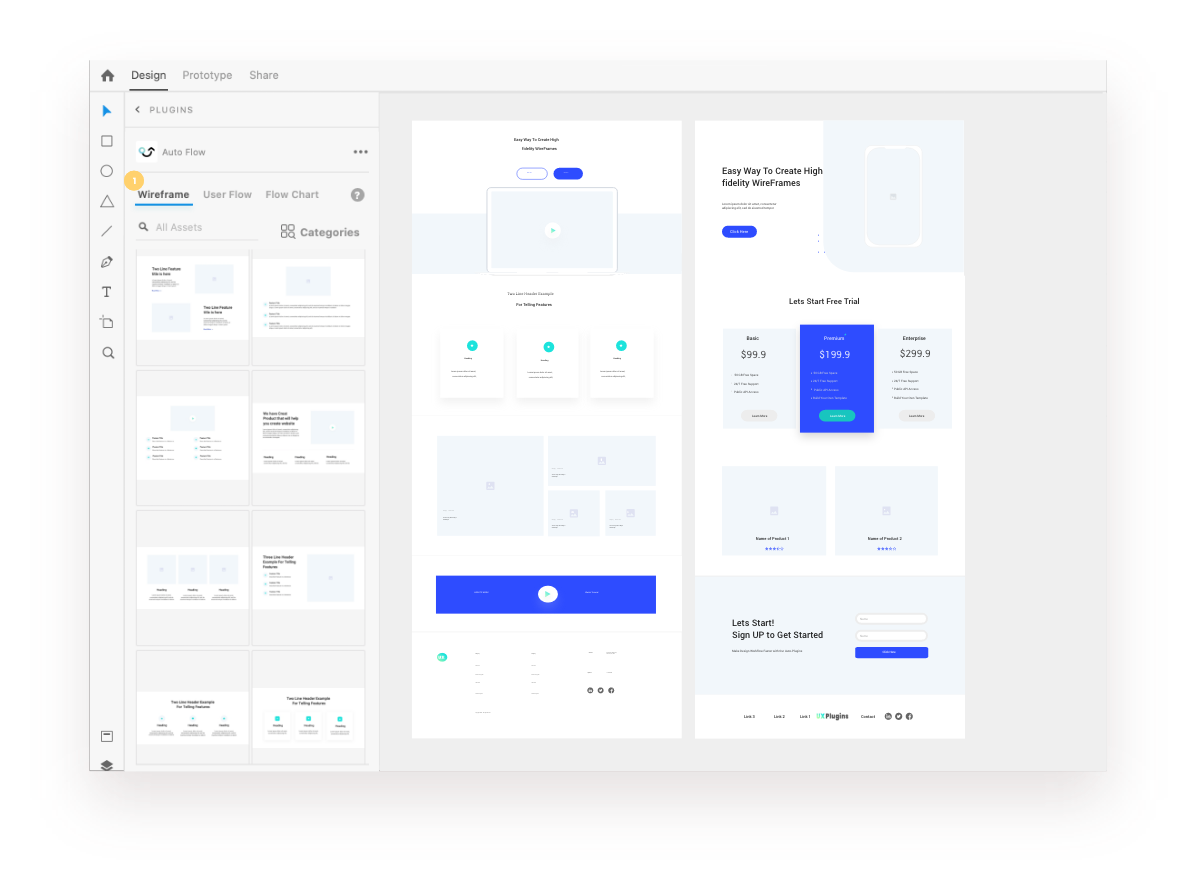 wireframe plugin for adobe xd